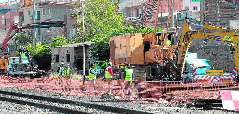 Íñigo de la Serna: «Hemos iniciado las obras para soterrar las vías a pesar de algunos»