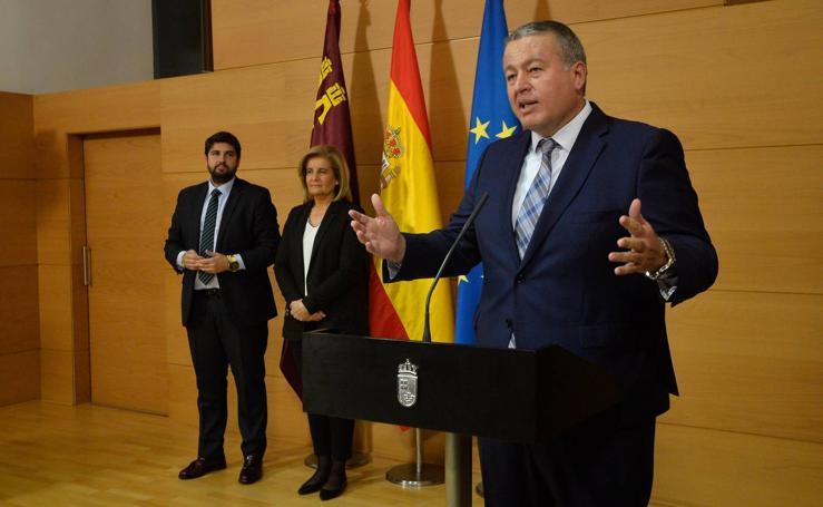 Francisco Bernabé, nuevo delegado del Gobierno