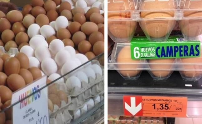 La razón por la que se ha disparado el precio de los huevos