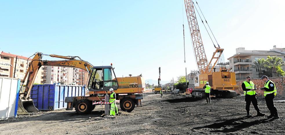 Adif acelera las obras de la vía provisional