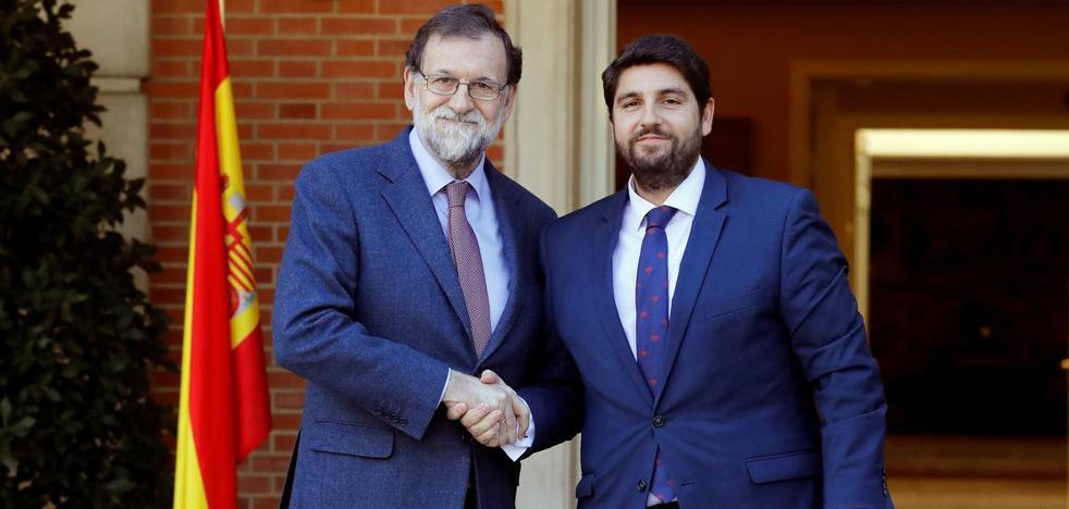 Miras pide a Rajoy una reforma de la Constitución que garantice el agua