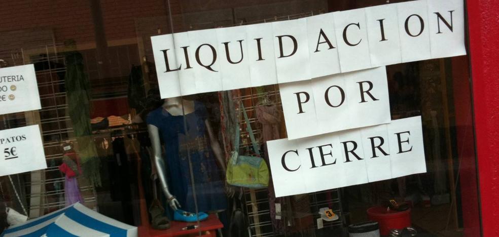 Murcia, tercera comunidad donde más empresas se van a cerrar en 2017