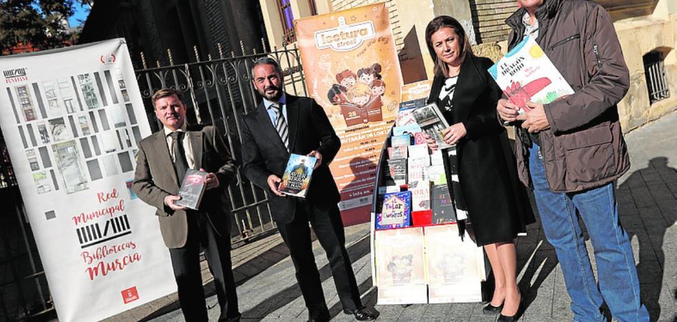 La calle Basabé será por un día una biblioteca con carpas, sillas y estanterías