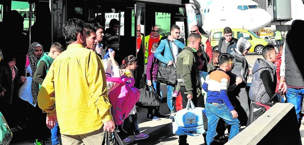 Murcia acoge a seis refugiados sirios recién llegados a España