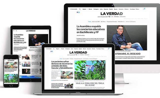 La web de 'La Verdad', premio al mejor rediseño del año