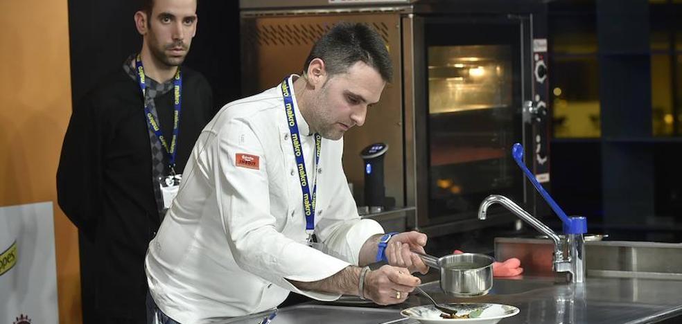 Fran Martínez presenta en Murcia Gastronómica su cocina de estrella Michelin