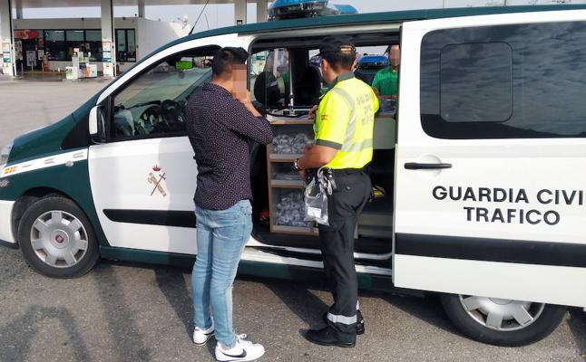 Detenido por conducir a 142 km/h y cuadruplicando la tasa de alcohol permitida