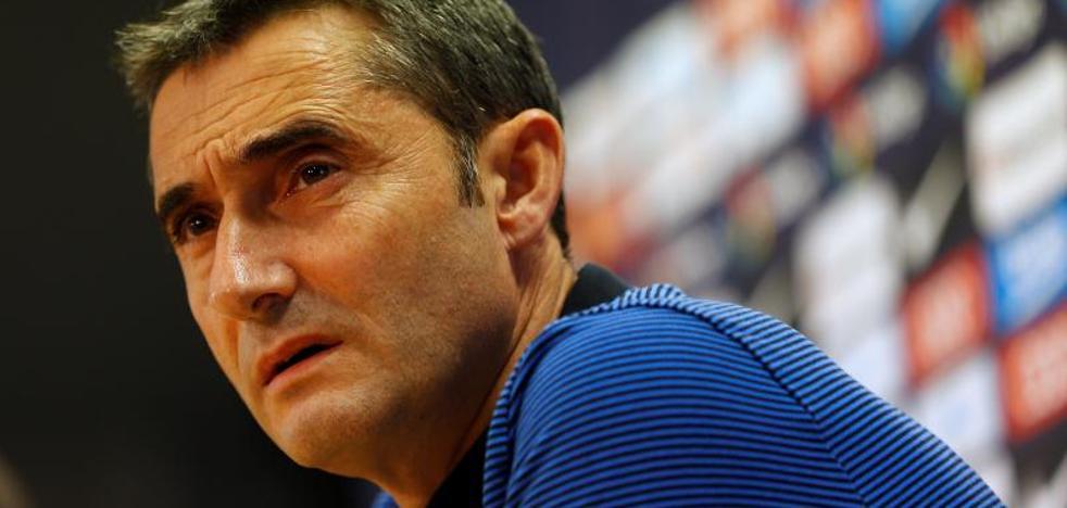 Valverde: «¿Griezmann? Me quedo con los que tengo»