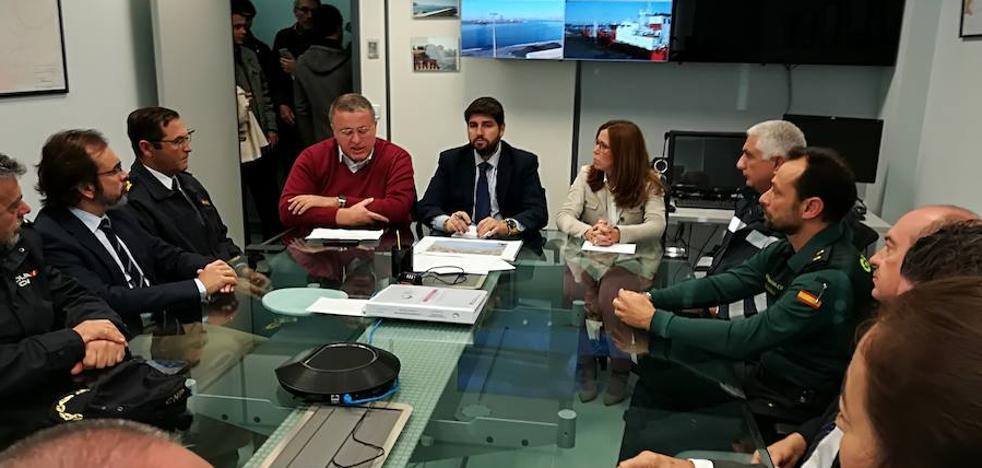 Bernabé: «Se ha dado una respuesta legal al asalto a las costas de la Región»