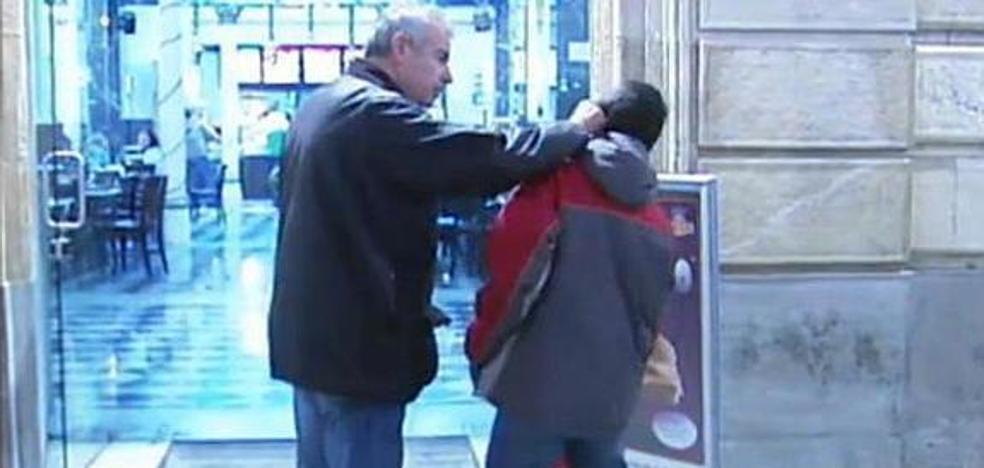 Condenado a cárcel y orden de alejamiento un padre que dio una bofetada a su hijo