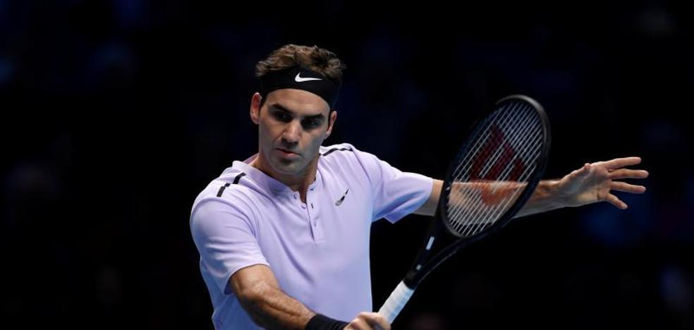 Federer-Goffin, en directo