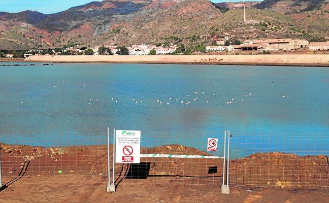 El Ministerio inyecta 1.200.000 euros para proseguir las obras de Portmán hasta final de año