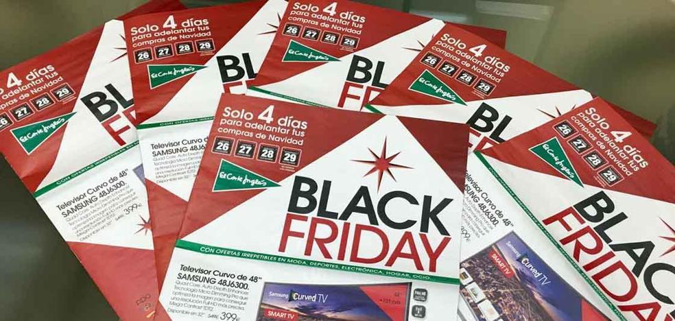 Los murcianos se gastarán unos 259 euros en el Black Friday