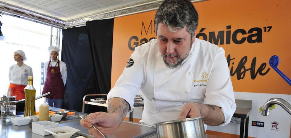José Carlos Fuentes trae su cocina de caza a Murcia Gastronómica