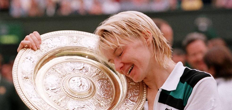 Muere la excampeona de Wimbledon Jana Novotna