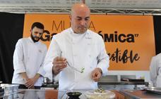 Raúl Resino y sus «pescados humildes» en Murcia Gastronómica