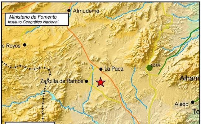 Lorca registra tres temblores durante la madrugada