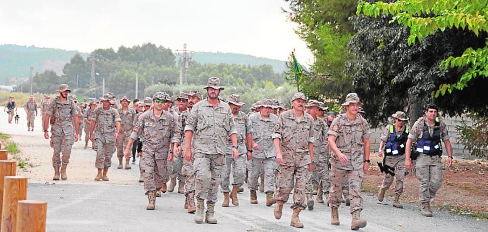 Un centenar de militares ganan el jubileo