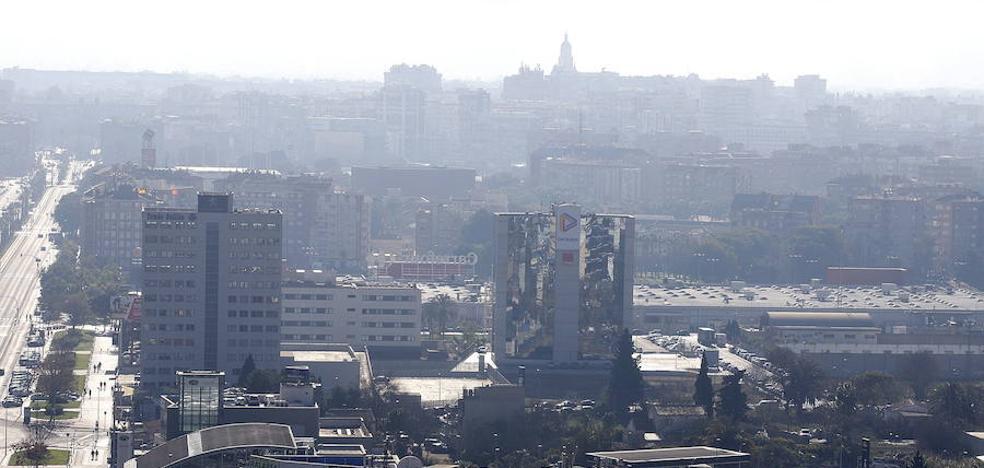 Murcia rebasa los límites de contaminación atmosférica