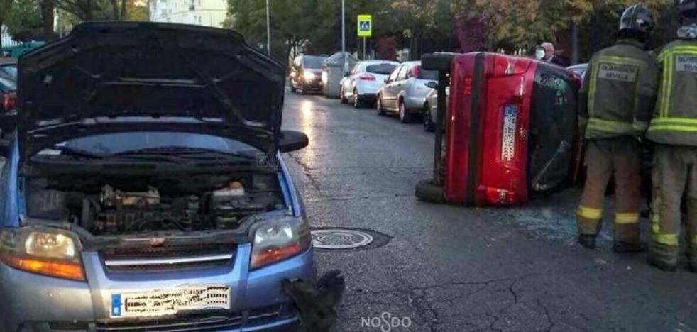 Quintuplica la tasa de alcohol y provoca un grave accidente con su hijo menor en el coche