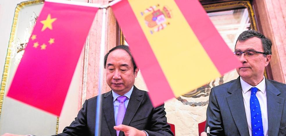 Camaradería entre Nanning y Murcia