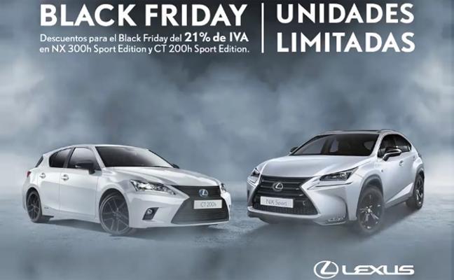 Black Friday en Lexus Murcia