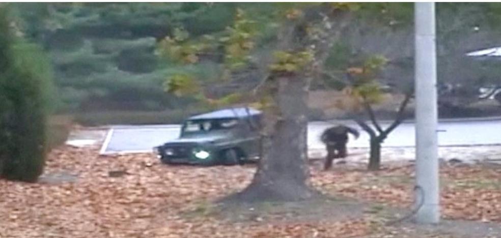 El vídeo que muestra a un soldado norcoreano desertando a Corea del Sur