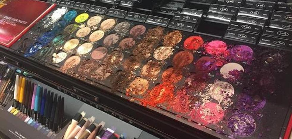 Un niño destruye más de 1.000 euros en maquillaje en una tienda de Sephora