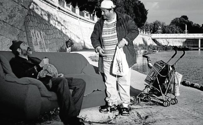 Chumilla-Carbajosa presenta en Madrid su película 'Regreso al horizonte'