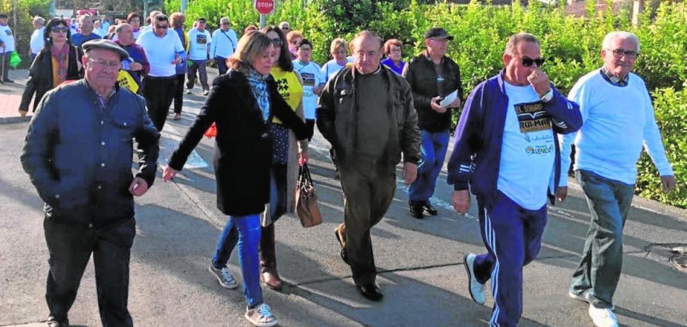 Caminata contra el maltrato