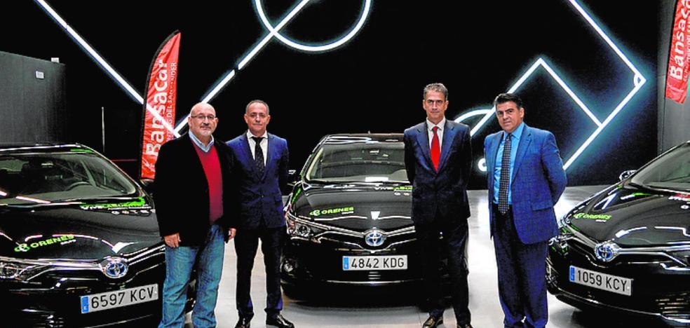 Orenes Grupo incorpora 57 vehículos híbridos Toyota