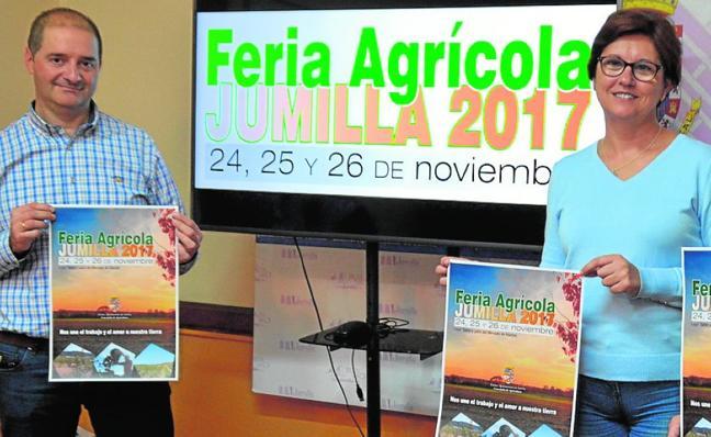 Jumilla reúne este fin de semana todas las novedades en la Feria Agrícola 2017