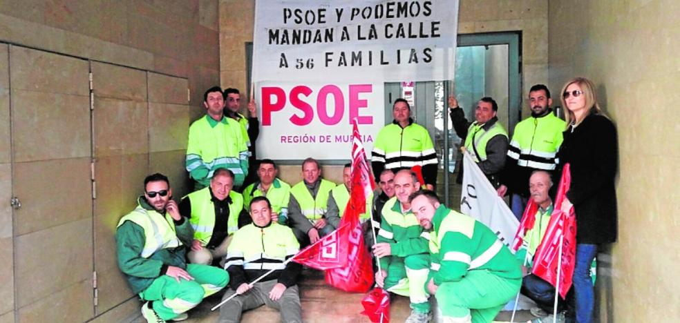 La plantilla de Arimesa se cita con el PSRM para presionar a la alcaldesa