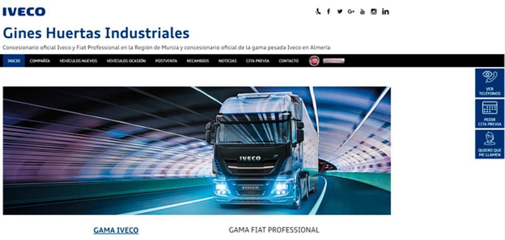 Ginés Huertas Industriales Iveco estrena web