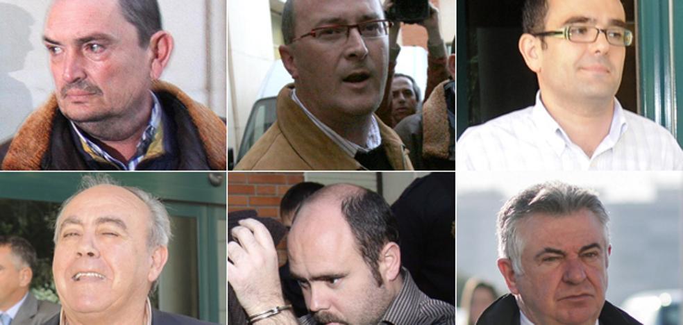 La 'trama Ninette' acumula peticiones de penas de más de 75 años de prisión