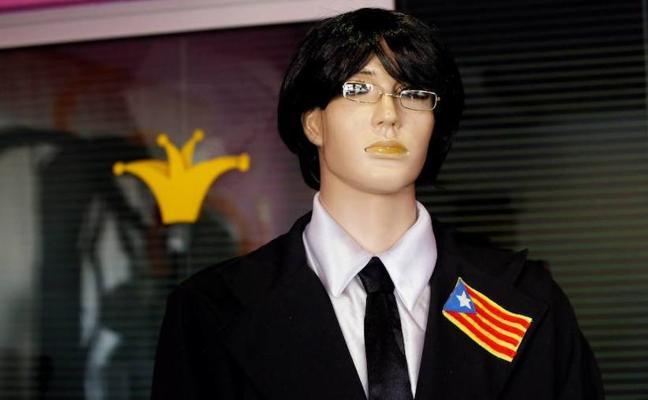 Un doble de Puigdemont se entrega a la Policía en un pueblo manchego