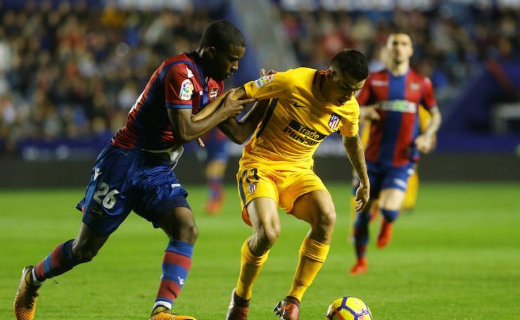 Las mejores imágenes del Levante-Atlético