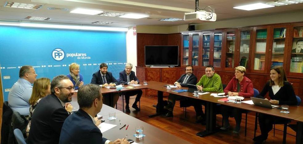 El PP regional, «satisfecho» con que el AVE llegue antes de 2020 a Cartagena y a Lorca
