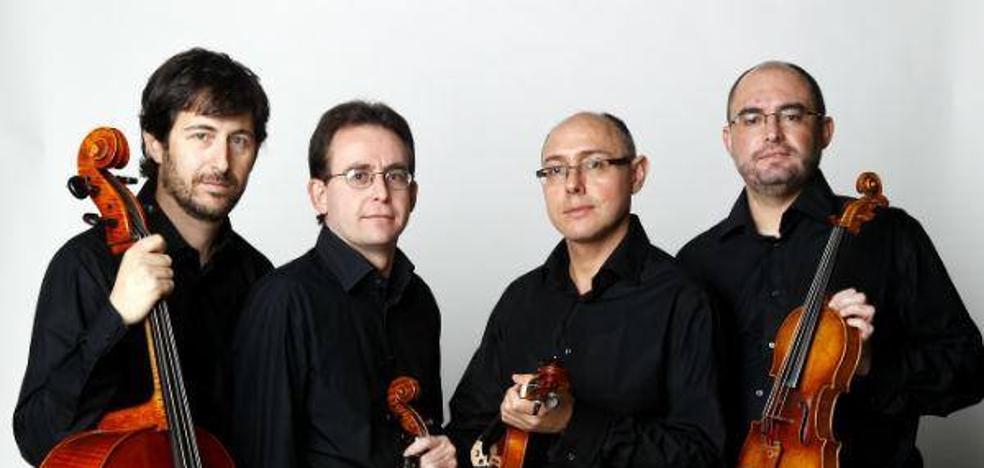 Cuarteto Saravasti, con la OSRM
