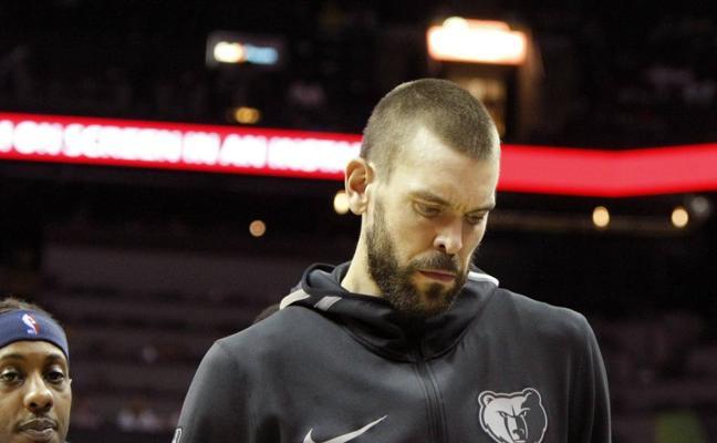 Los Grizzlies sufren la octava derrota consecutiva y Marc Gasol carga contra su entrenador