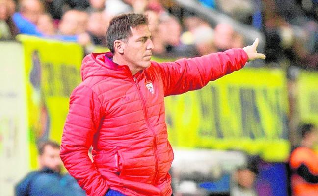 Berizzo se opera hoy y Marcucci, su segundo, dirigirá mañana al Sevilla contra el Cartagena