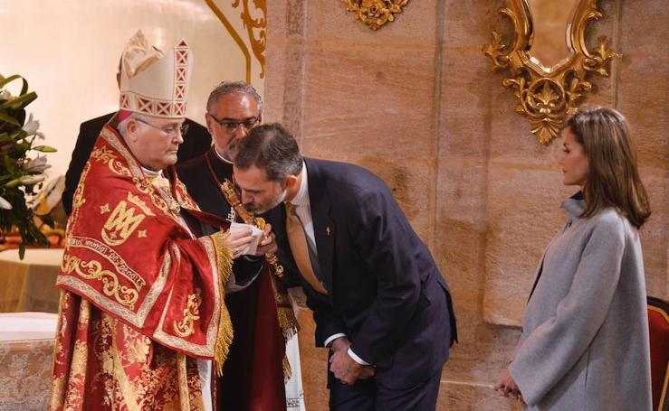 Caravaca de la Cruz se vuelca con la visita de los Reyes