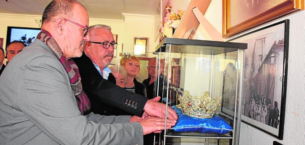 El Museo del Mar exhibe la corona de los pescadores para la Virgen del Carmen