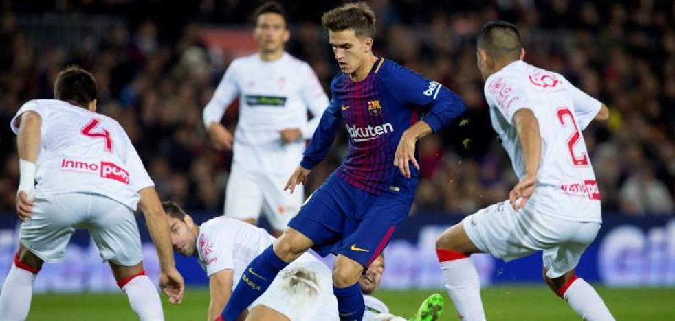 Denis Suárez sobresale en la goleada al Murcia