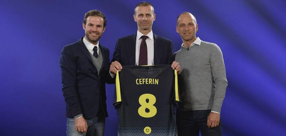 El presidente de UEFA se une a Mata en Common Goal