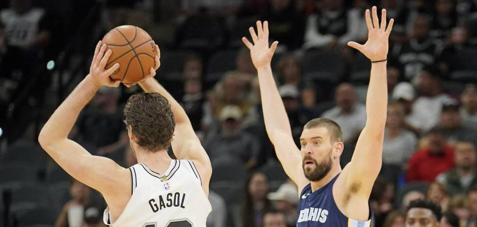 Los Spurs de Pau Gasol agravan la crisis de los Grizzlies de Marc