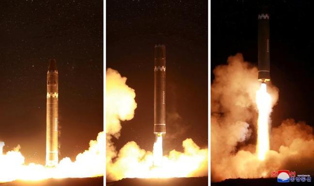 Corea del Norte presume de su último misil