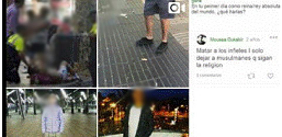 Identifican a un internauta que tildó de «basura humana» a las víctimas de Cataluña