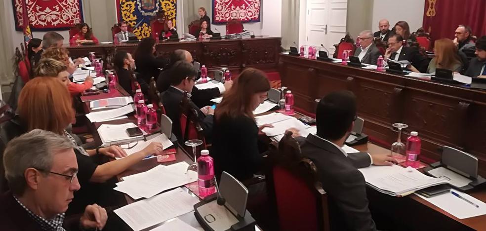 Cruce de reproches entre José López y dos ediles de Cs durante el Pleno de Cartagena