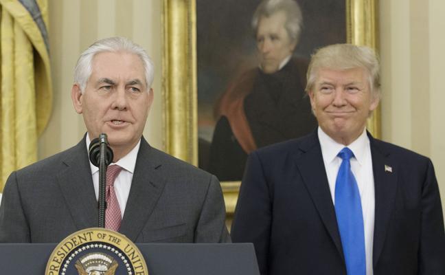 Trump evita responder a los rumores sobre un posible reemplazo de Tillerson